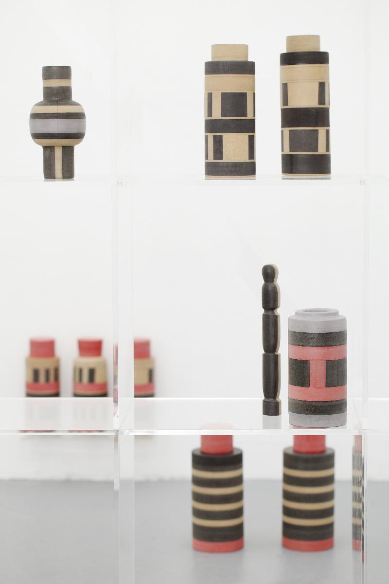 Marion Andrieu Esoteric shop, 2017 Plexiglass, MDF, plywood dimensions variable Courtesy of the artist Photo : Katharina Kritzler
