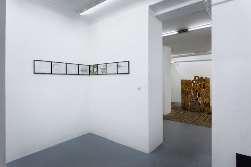 vorn Bettina Carl, 2010, Hanne sagte hinten Irène Hug, 2011/2017, Klare Erklärungen