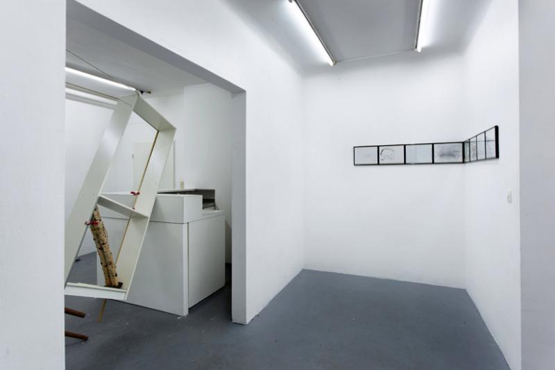 links Anna Gollwitzer, 2017, Die Schreibstube der Anna O. rechts Bettina Carl, 2010, Hanne sagte