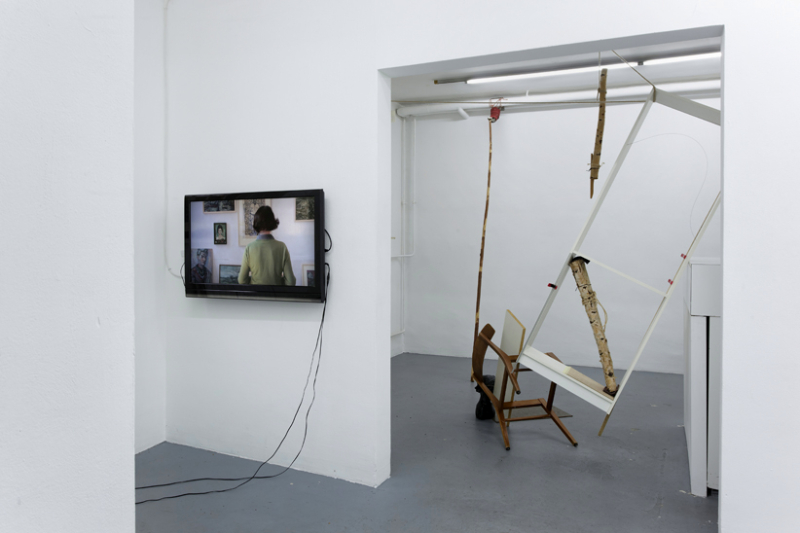 links Ina Bierstedt, 2016, Standorte rechts Anna Gollwitzer, 2017, Die Schreibstube der Anna O.