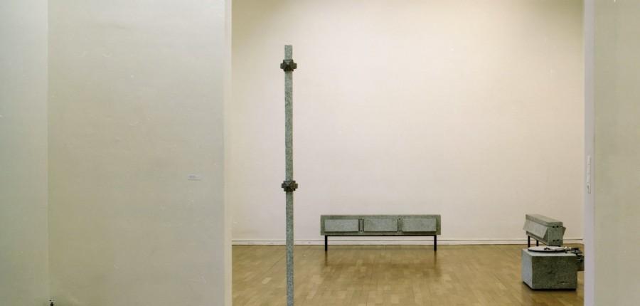 Ausstellungsansicht Ausst. Markus Wüste