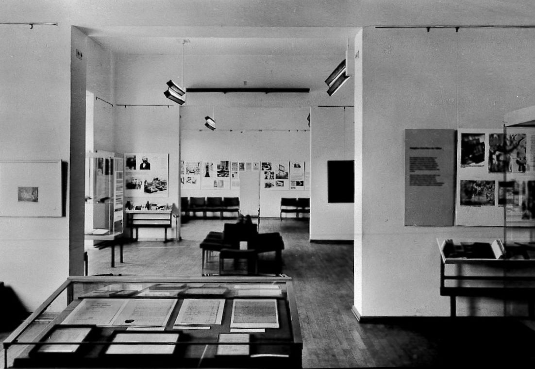 Exhibition rooms circa 1965