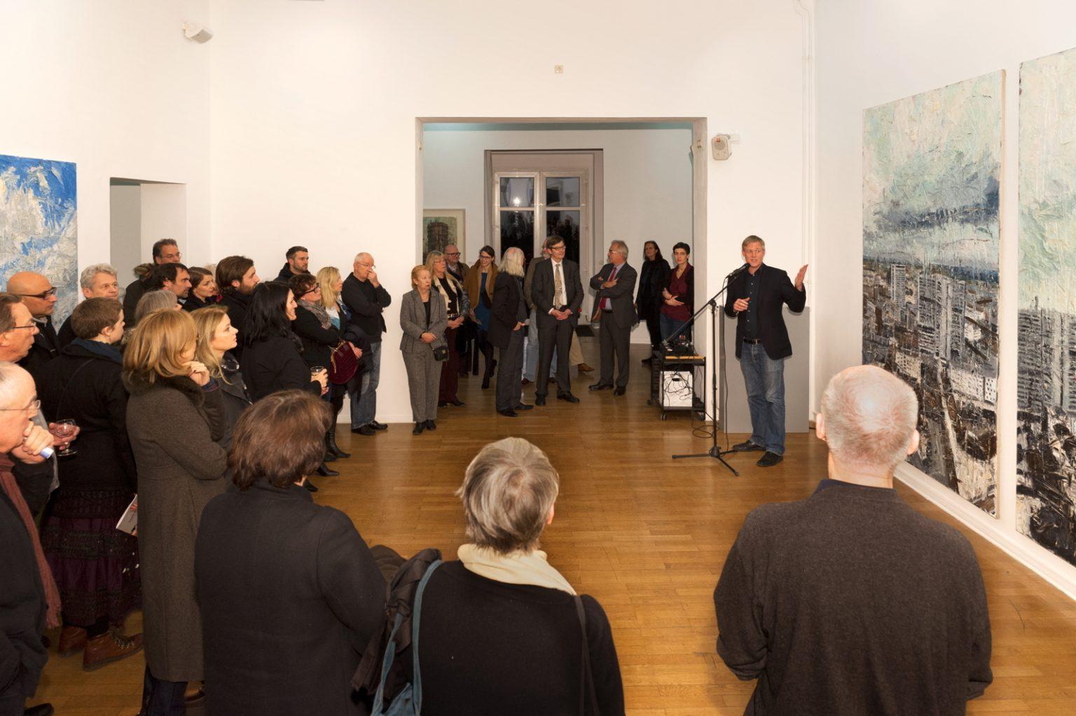 Eröffnungsrede von Dr. Marc Wellmann, Foto: Achim Kleuker