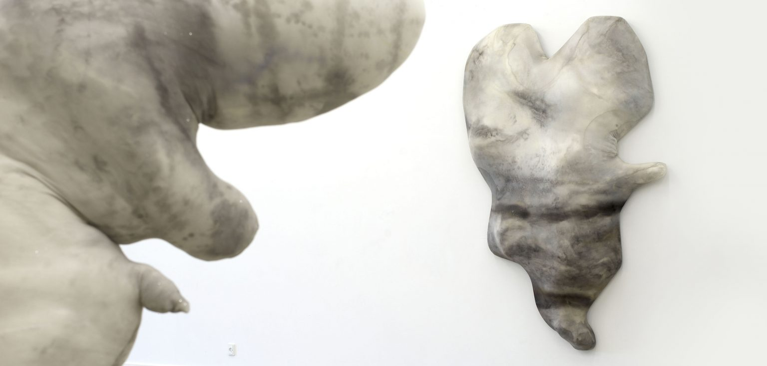 Installationsansicht, Kunsthal 44 Moen, Dänemark, 2019 © Dorothee Diebold, VG Bild-Kunst Bonn