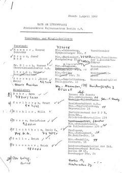 Liste 1962