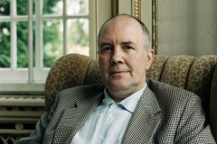 Mark Gisbourne, aufgenommen im Wasserschloss, Groß Leuthen