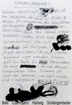 Manifest Schwarzmalerei