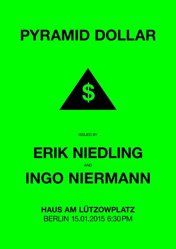 Pyramidendollar-Plakat